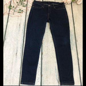 Levi's jeans 6 medium blue leggings denim skinny